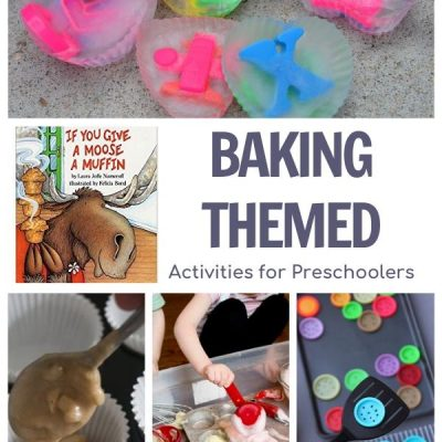 Baking Week Plan for Preschoolers Featuring If you Give a Moose a Muffin