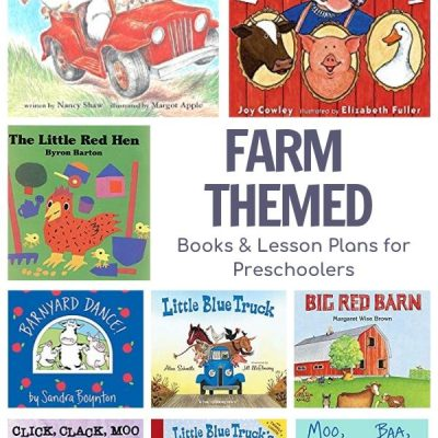 Farm Themed Weekly Plans and Favorite Books for Preschoolers