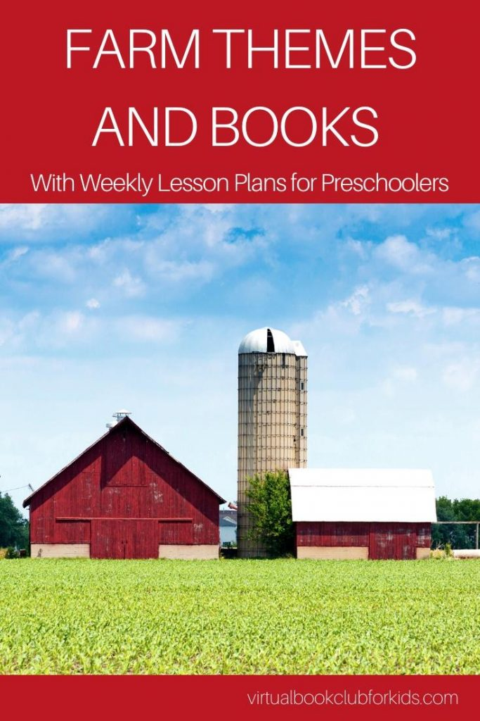 Farm themes and books with activity plans for preschoolers