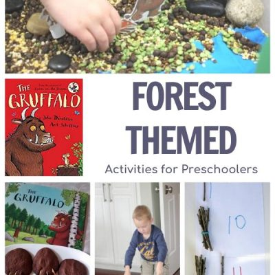 Forest Week Featuring The Gruffalo for Preschoolers