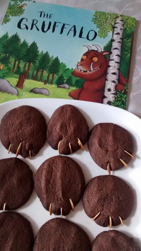 Gruffalo Biscuits (recipe)