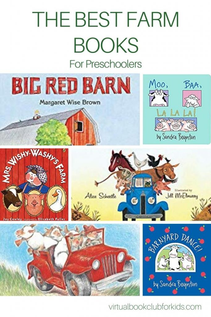 The Best farm Books for Preschoolers