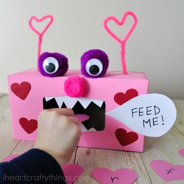 Valentine Monster Alphabet and Sight Word Game