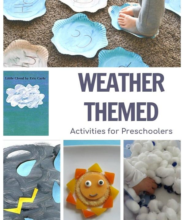 Weather Themed Activity Plan for Preschoolers Featuring Little Cloud