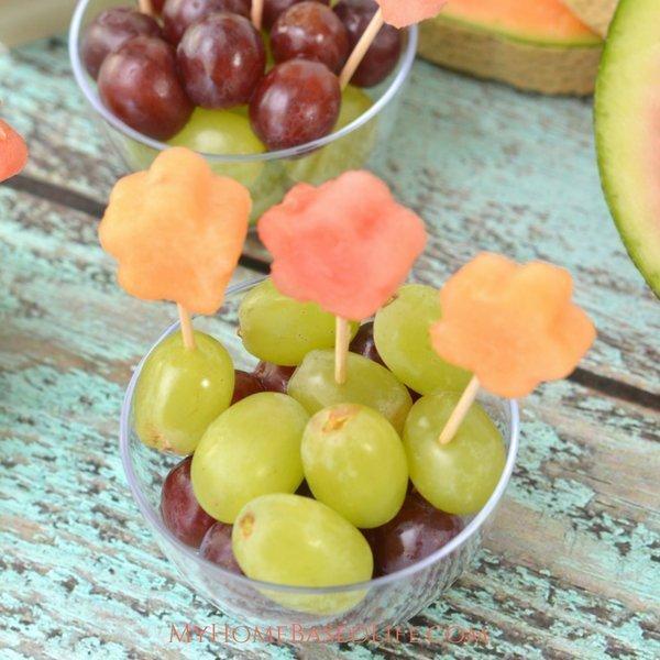 Flower Fruit Cups for Kids