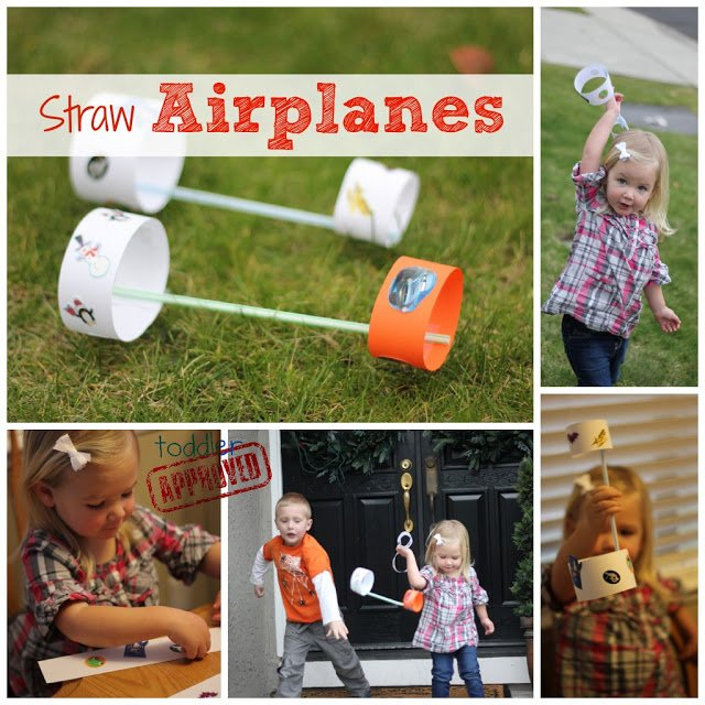 Straw Airplanes Activity