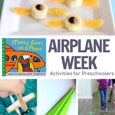 Plane Week for Preschoolers Featuring Maisy Goes on a Plane