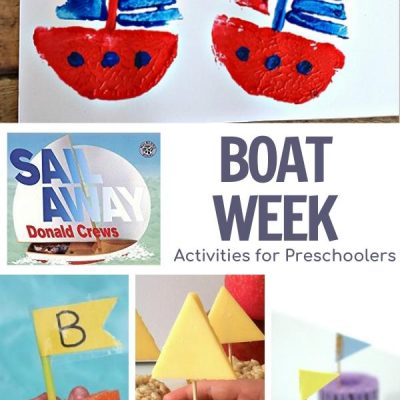Boat Themed Week Featuring Sail Away for Preschoolers