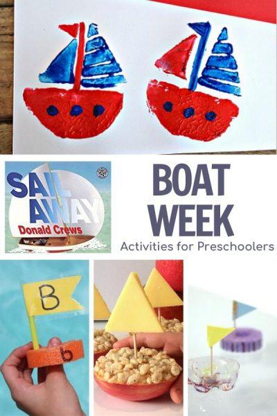 boat week activities for preschoolers