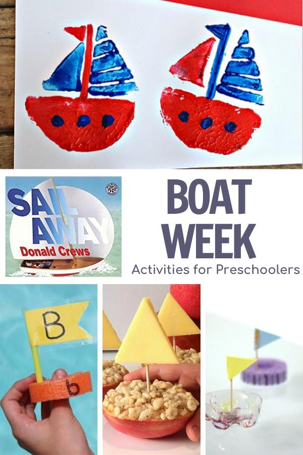 boat week activities for preschoolers