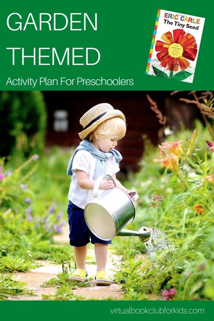 Garden theme activity plan for preschoolers