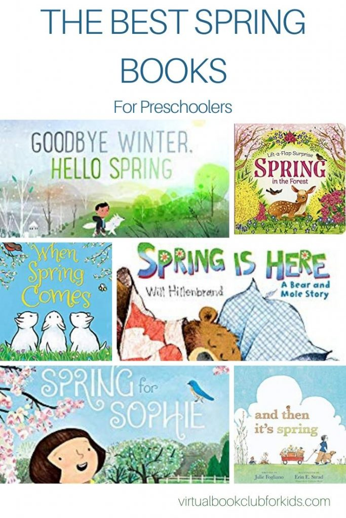 the best spring books for preschoolers