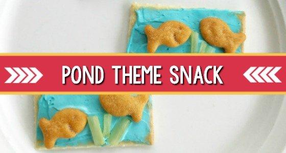 Pond Theme Snack Activity
