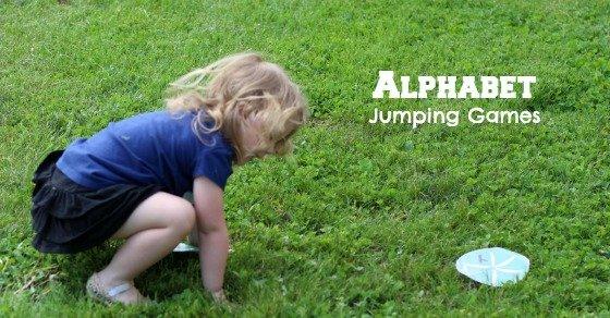 Alphabet Jumping Games