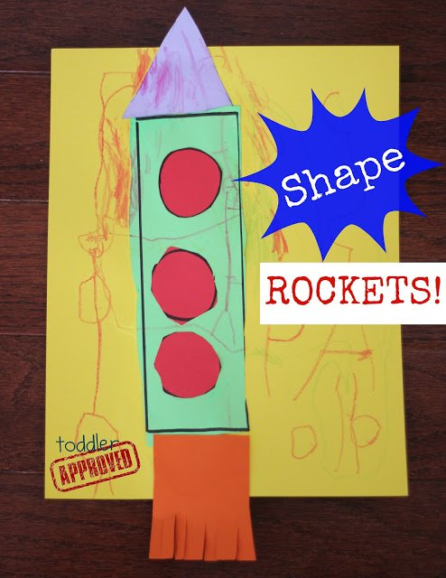 Shape Rockets- Back to School Basics