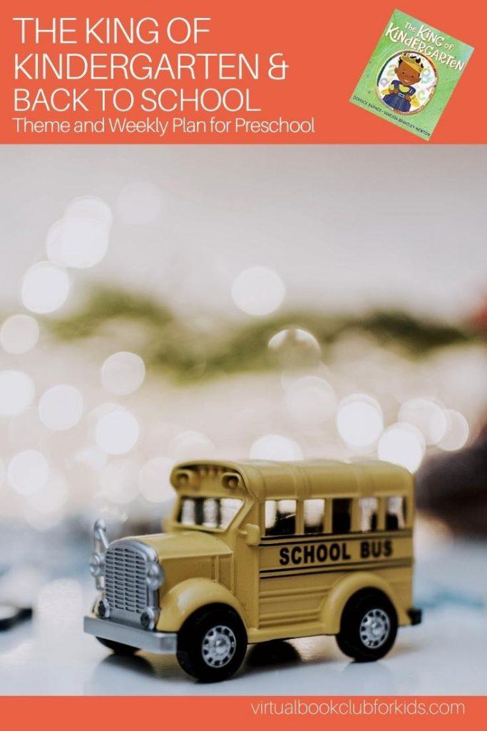 Back to School Week Pinterest Image