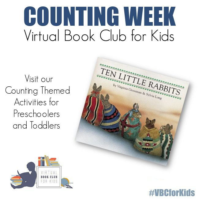 Counting Week Activity Plan for Preschoolers with 10 Little Rabbits