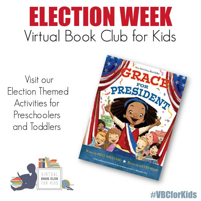 Grace For President Election Week Activity Plan for Preschoolers