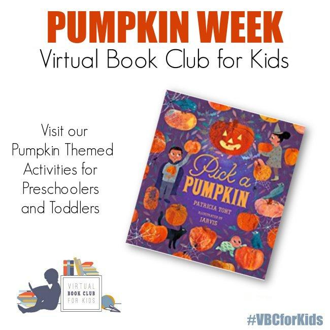 Pumpkin Week for Preschoolers Featuring Pick a Pumpkin