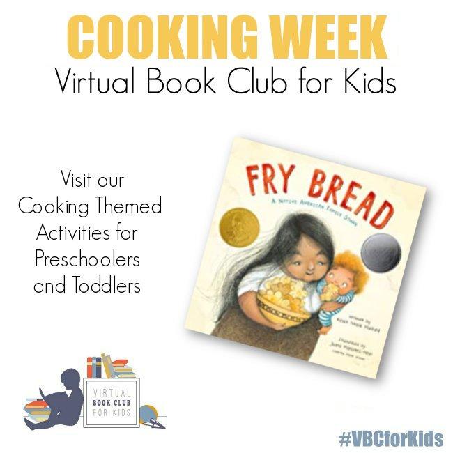 Cooking Week for Preschool Featuring Fry Bread
