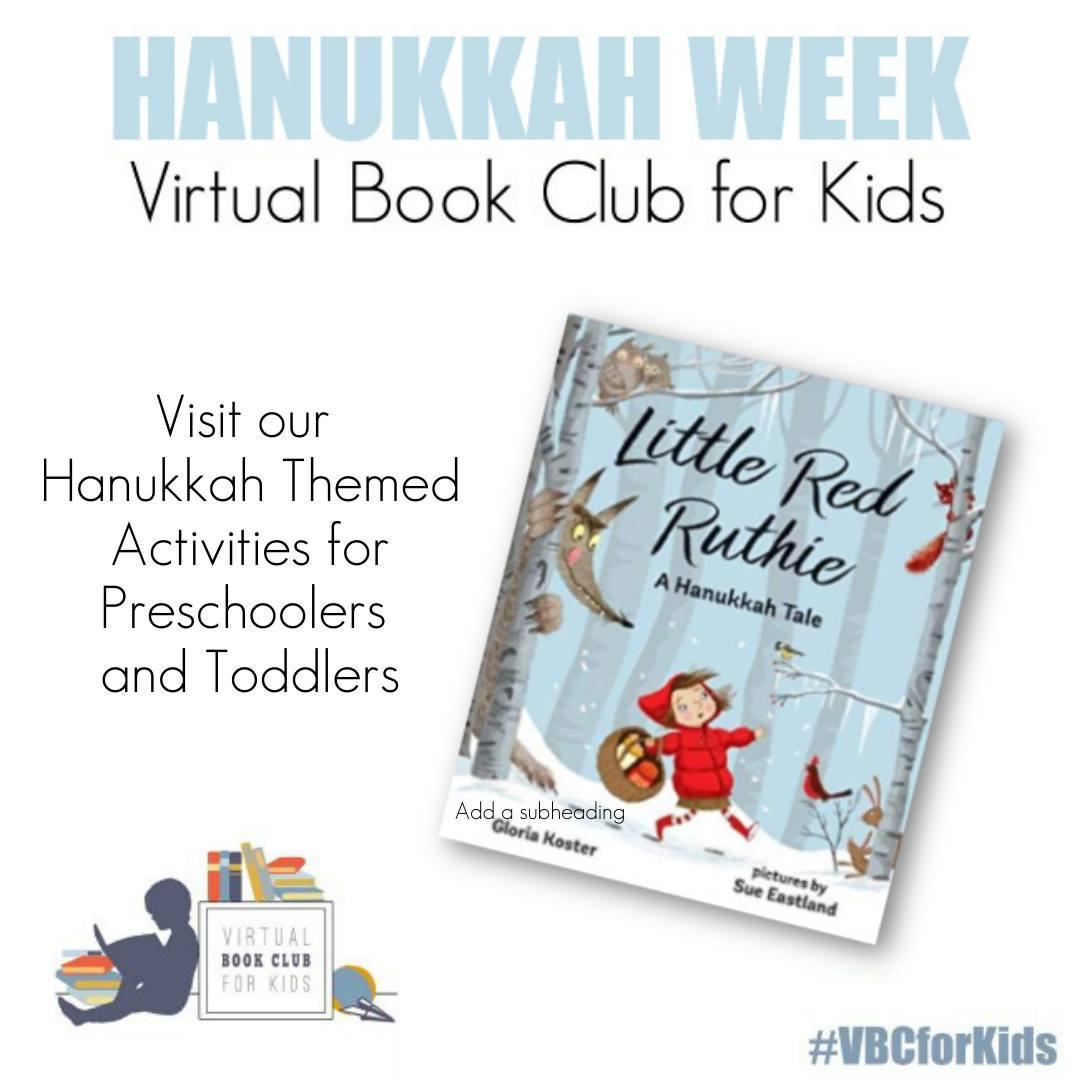 Hanukkah Week for Preschoolers featuring Little Red Ruthie by Gloria Koste