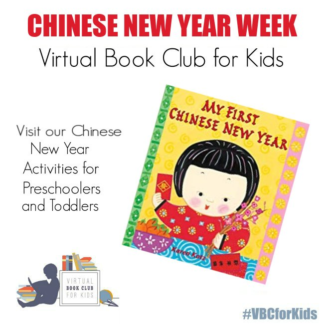 Chinese New Year Activities for Preschoolers Featuring My First Chinese New Year