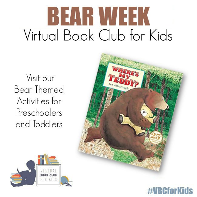 Bear Weekly Activity Plan featuring Where's My Teddy?