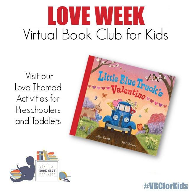Love Weekly Activity Plan featuring Little Blue Trucks Valentine