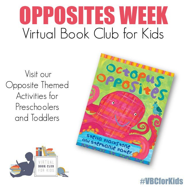 Octopus Opposites and Opposite Theme Activity Plan for Preschoolers