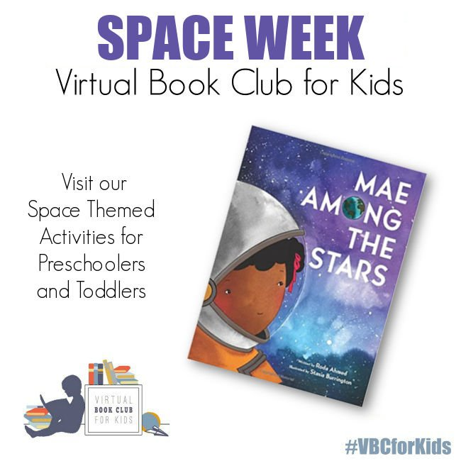 Mae Among the Stars and Space Week Activity Plan for Preschoolers