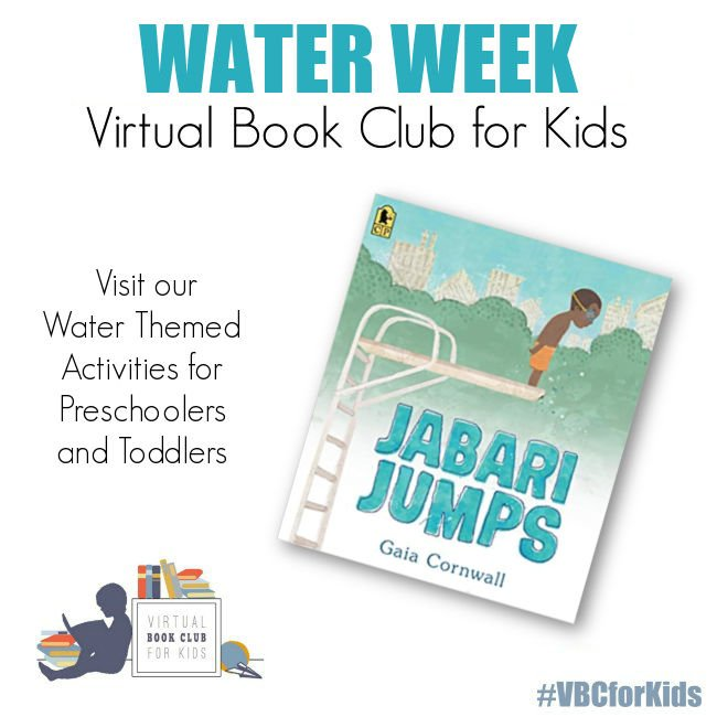 Jabari Jumps by Gaia Cornwall and Water Week Activity Plan for Preschool
