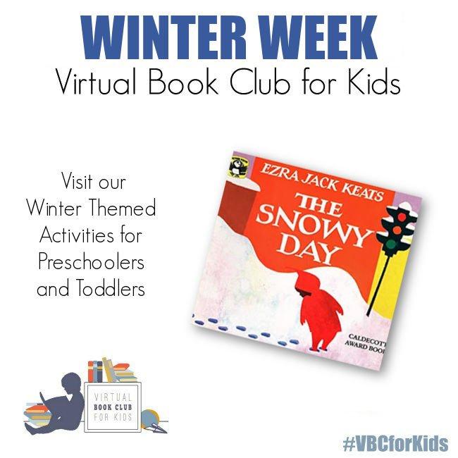 Winter Week for Preschoolers Featuring The Snowy Day by Ezra Jack Keats