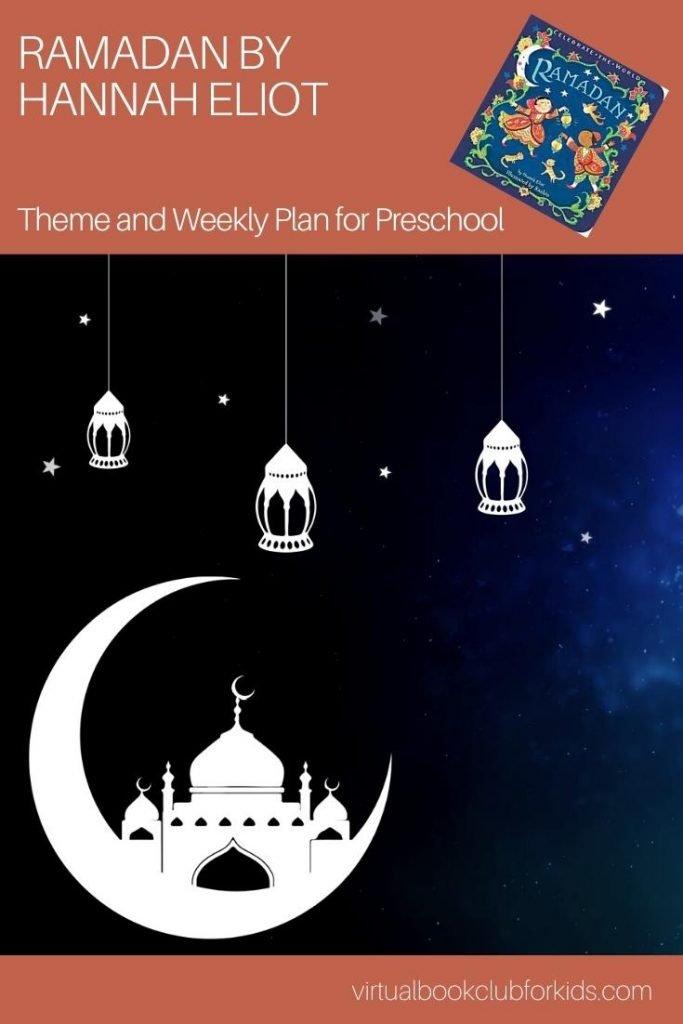 Pinnable image for Ramadan Activity Plan for Preschoolers