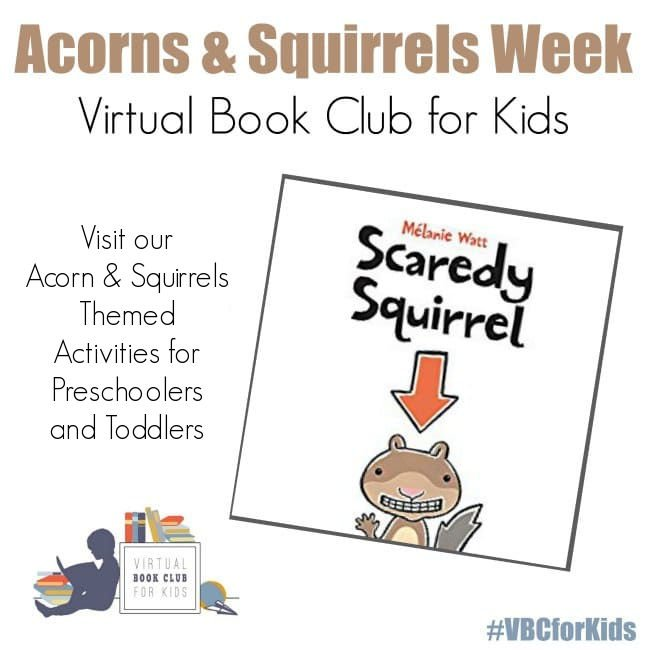 Scaredy Squirrel Weekly Plan for Preschool