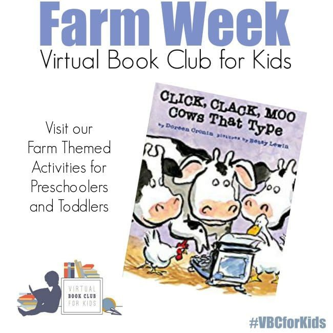 Click Clack Moo Themed Activities for Farm Week